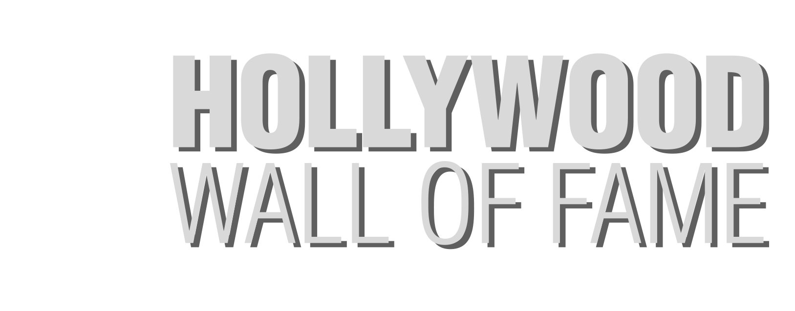 Hollywood Wall of Fame